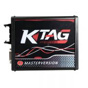 New 4 LED KTAG V7.020 Firmware EU Versão Red PCB Latest V2.23 No Token Limitation Multi -Language K -TAG 7.020 Versão on -line