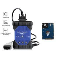 WIFI GM MDI 2 Interface Diagnóstico Múltipla com V2019.4 GDS2 Tech2Win Software Sata HDD para Vauxhall Opel Buick e Chevrolet