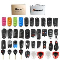 Xhorse Universal Remote Keys Inglês Version Packages 39 Pieces for VDI2 or VVDI Key Tool