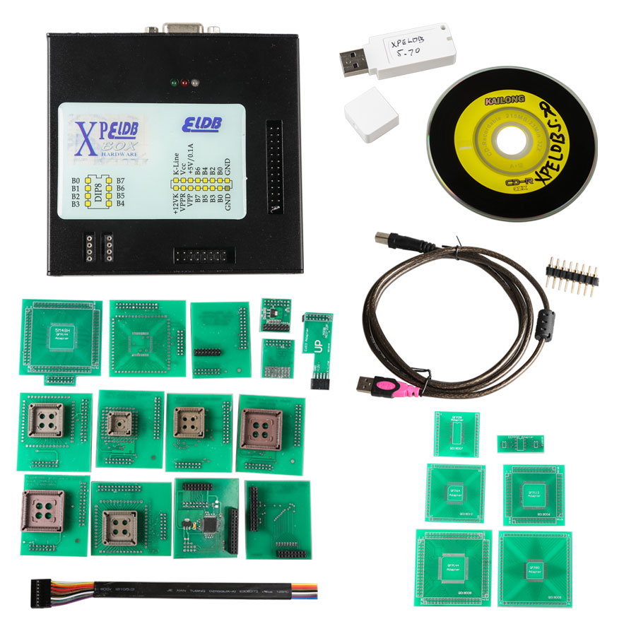 XPROG -M V5.74 X -PROG Box ECU Programmer com USB Dongle