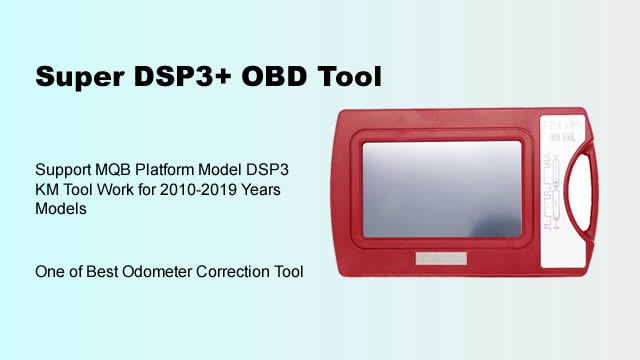 Super DSP3+ OBD Tool DSPIII Odometer Correction Tool